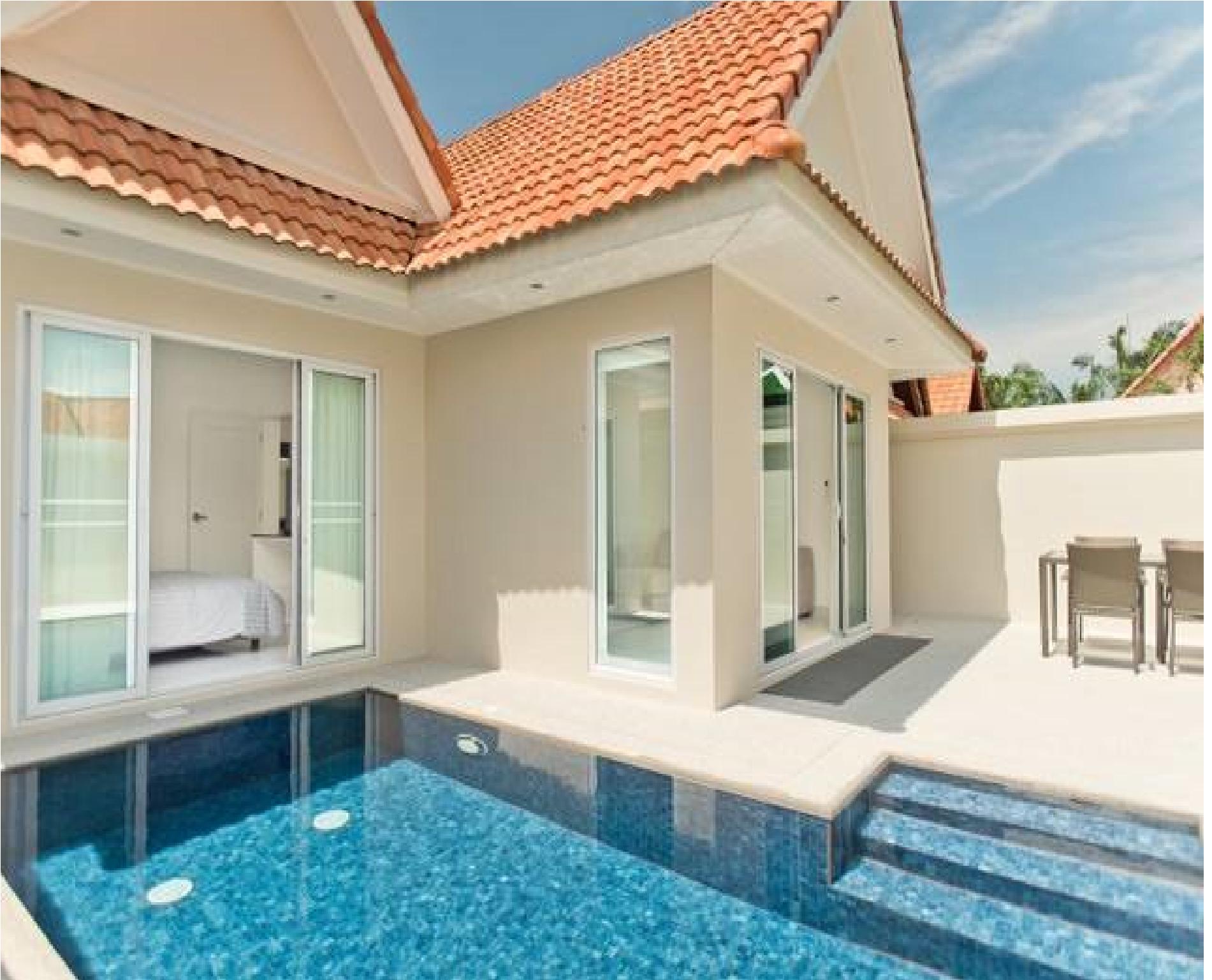 View Talay Villas - Luxury 2 Bed with Private Pool วิลลา 2 ห้องนอน 1 ห้องน้ำส่วนตัว ขนาด 160 ตร.ม. – หาดจอมเทียน