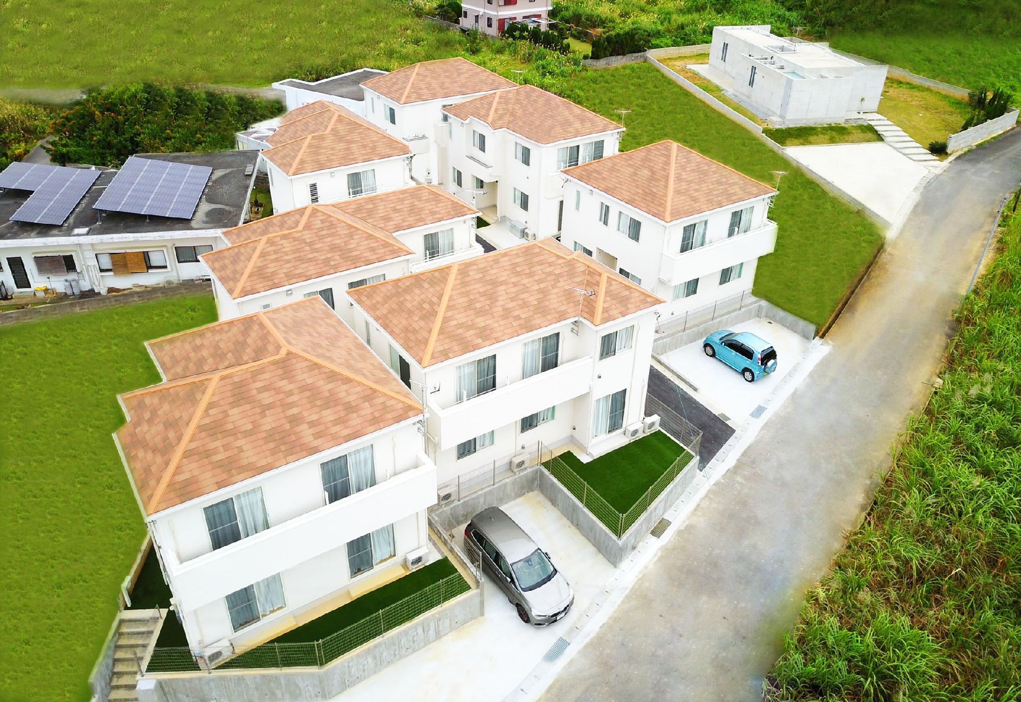 85 Onna Private Villa Max To 17ppl Free WIFI