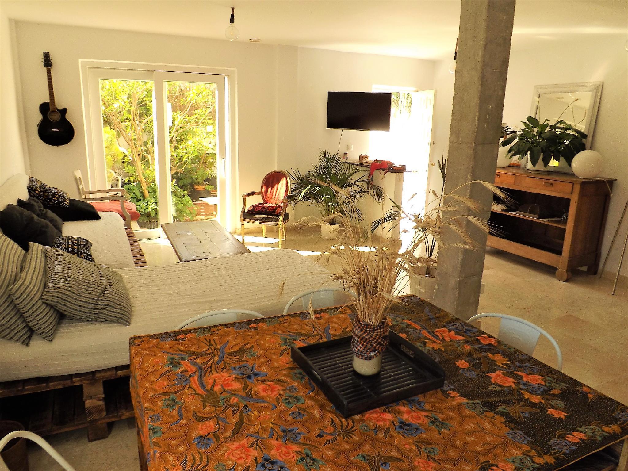 Bienvenido En Su Confortable Garden Loft House