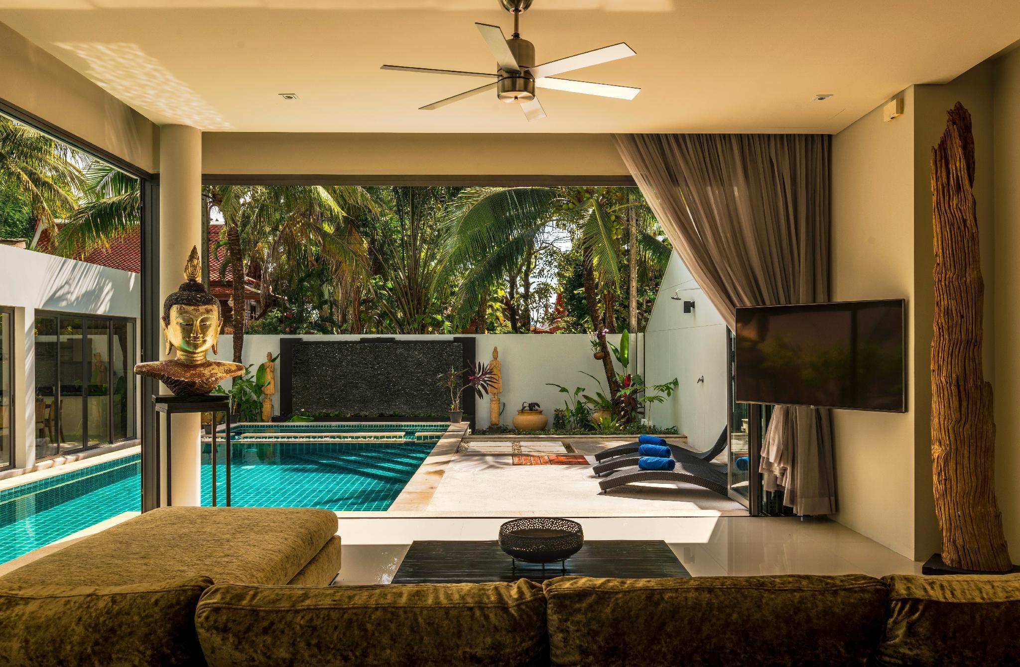 Amazing 5br, Seaview private PoolVilla by Intira วิลลา 5 ห้องนอน 7 ห้องน้ำส่วนตัว ขนาด 600 ตร.ม. – หาดราไวย์