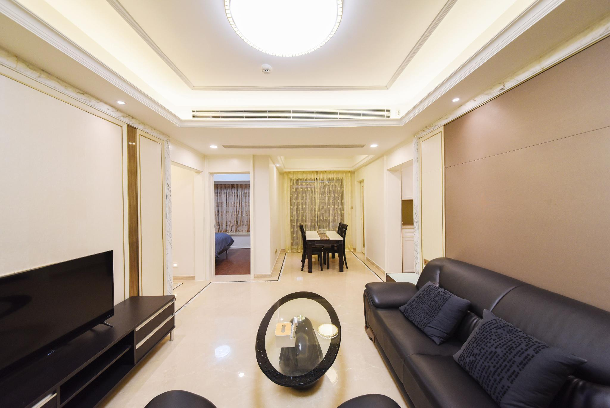 Contemporary And Contracted Wind 3 Rooms 2 Halls