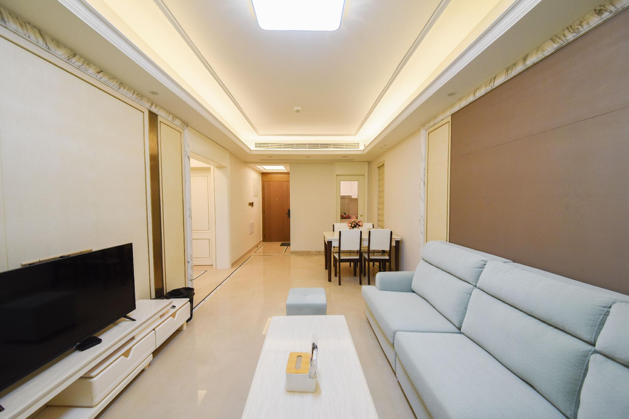 Contemporary And Contracted Wind Two Rooms