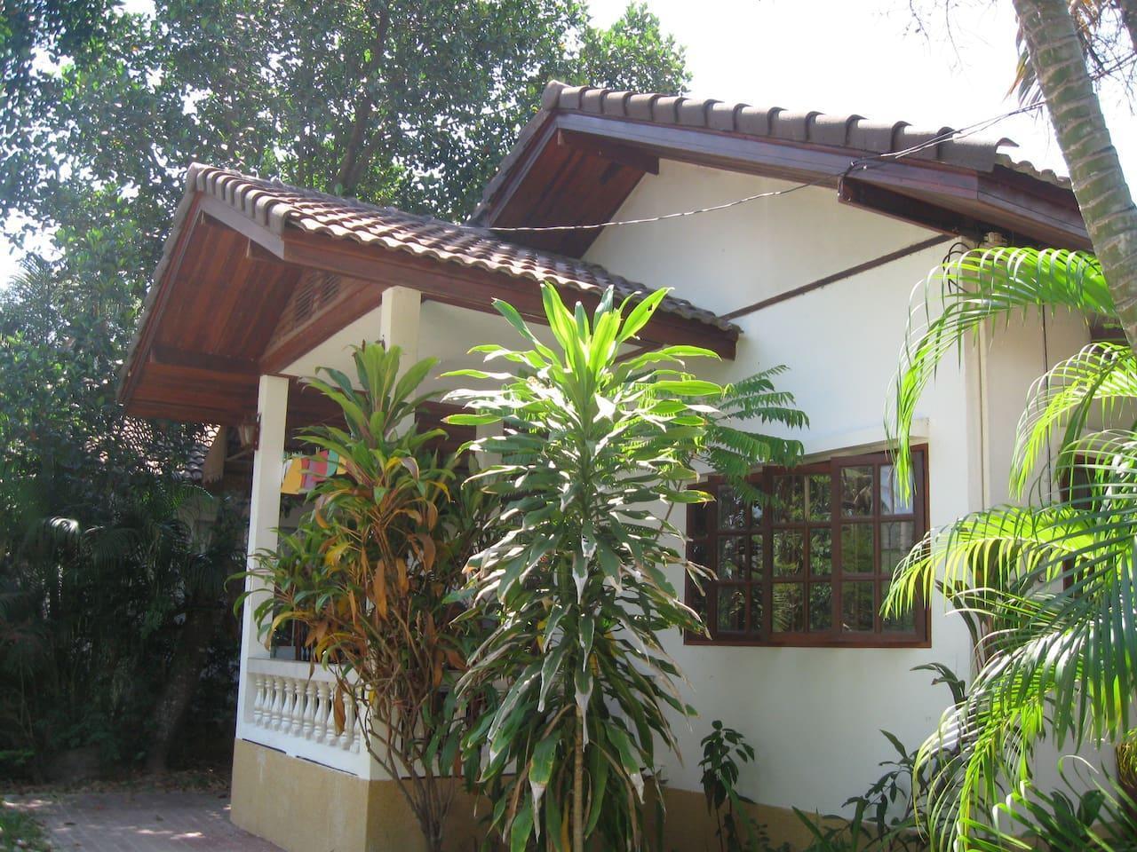 Bamboo Gardens #2 (2 Bedroom/1 Single) บ้านเดี่ยว 2 ห้องนอน 1 ห้องน้ำส่วนตัว ขนาด 70 ตร.ม. – แม่น้ำ