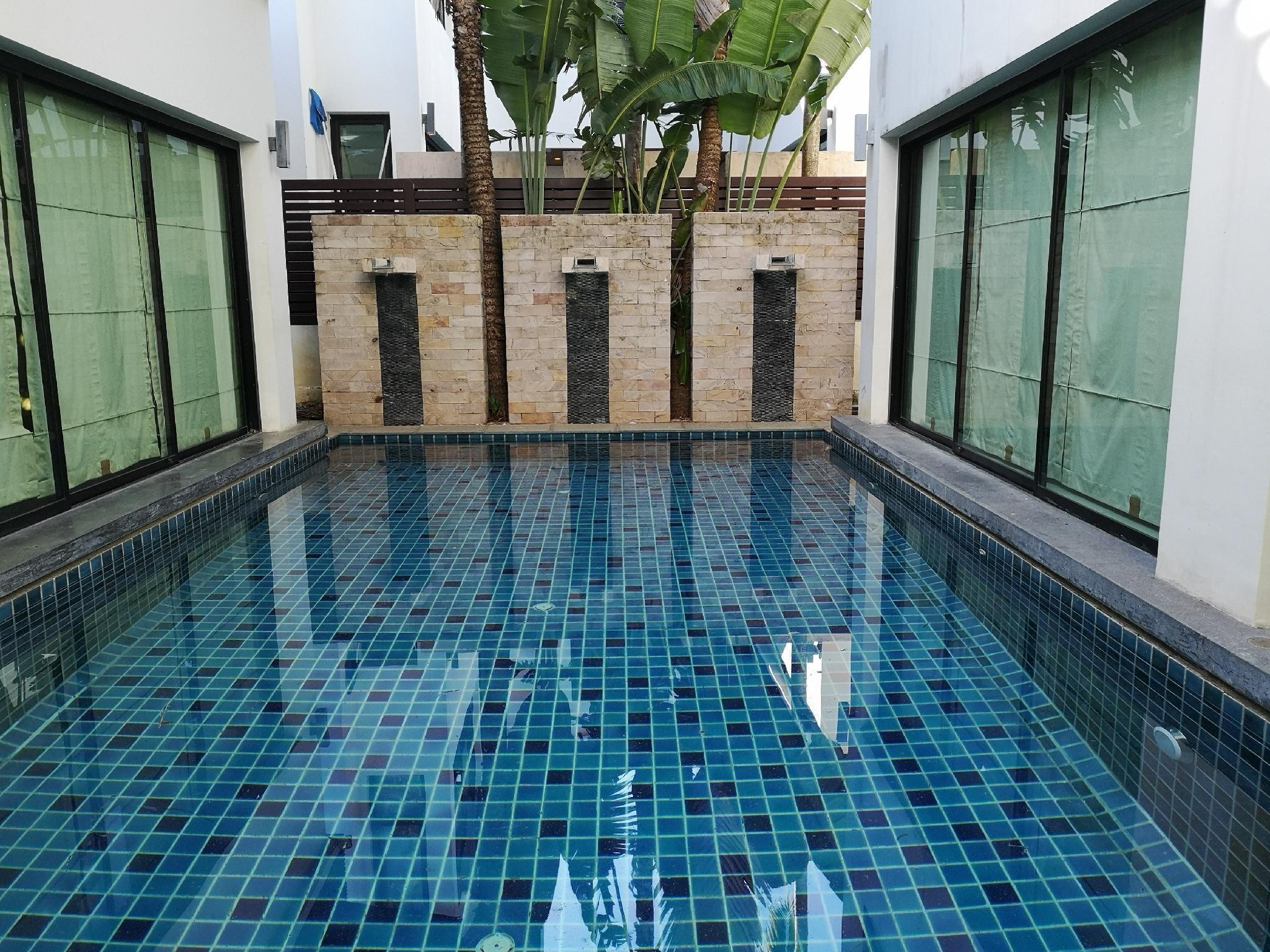 Modern Pool Villa วิลลา 3 ห้องนอน 4 ห้องน้ำส่วนตัว ขนาด 280 ตร.ม. – ตัวเมืองภูเก็ต