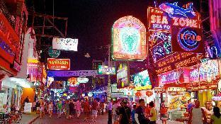[パタヤ南部]アパートメント(70m2)| 2ベッドルーム/2バスルーム Amazing Pattaya Bay View 6 pax Family & Group