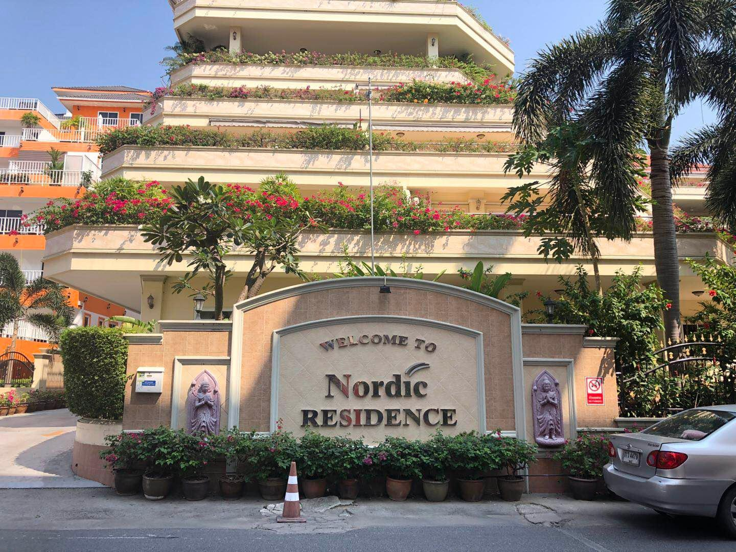Nordic Apartment Pattaya 500 Meters From The Beach