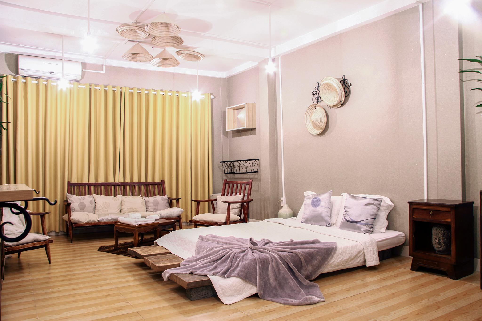 NHA SAIGON   Rustic Style And Spacious Room L3