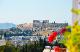 Афины - Mia's atelier balcony to Acropolis