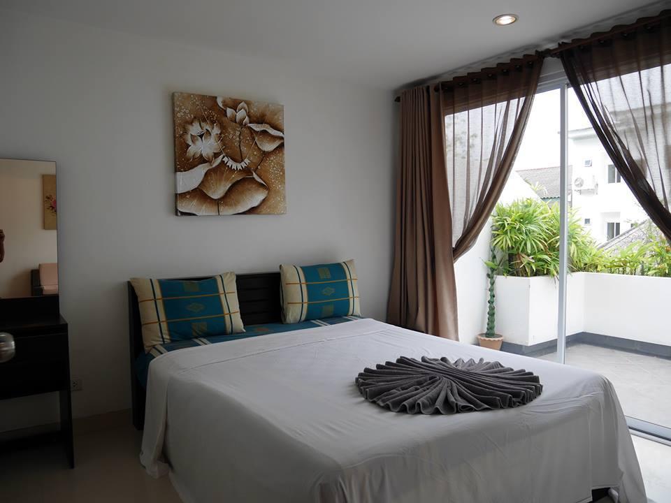2-Bedroom Family A Apartment อพาร์ตเมนต์ 2 ห้องนอน 1 ห้องน้ำส่วนตัว ขนาด 60 ตร.ม. – หาดละไม