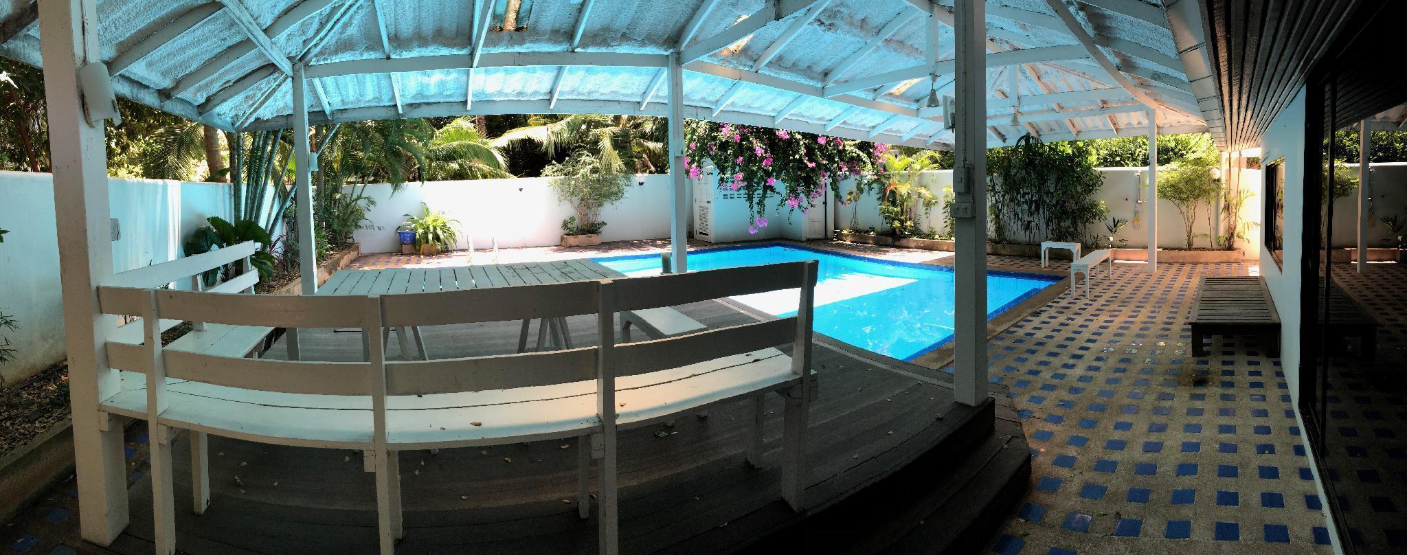 Beach house, private pool, บ้านเดี่ยว 2 ห้องนอน 3 ห้องน้ำส่วนตัว ขนาด 200 ตร.ม. – หาดวงอมาตย์