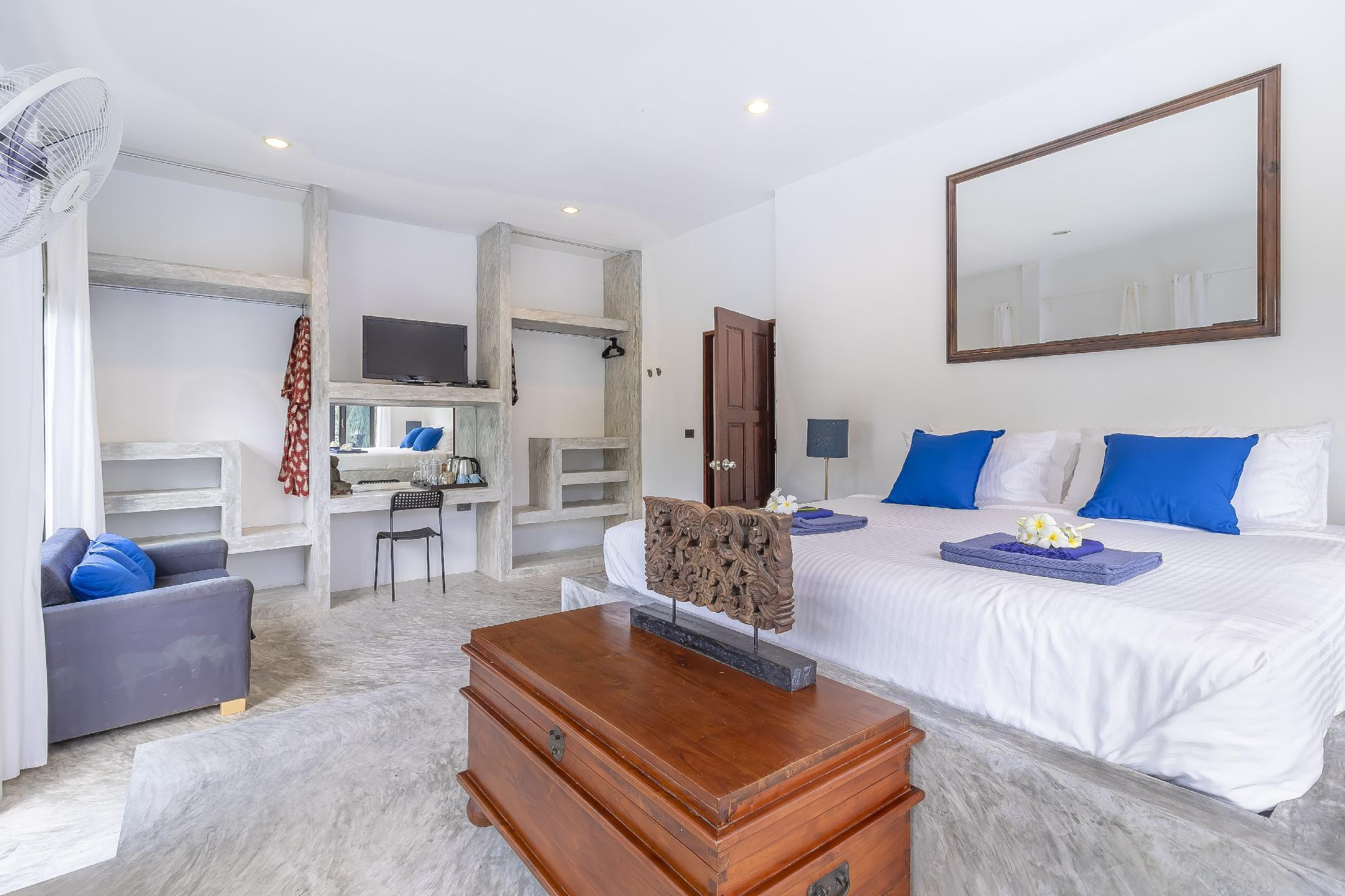 Spacious 3 bed with mountain views close to beach วิลลา 2 ห้องนอน 2 ห้องน้ำส่วนตัว ขนาด 275 ตร.ม. – ไทรรี