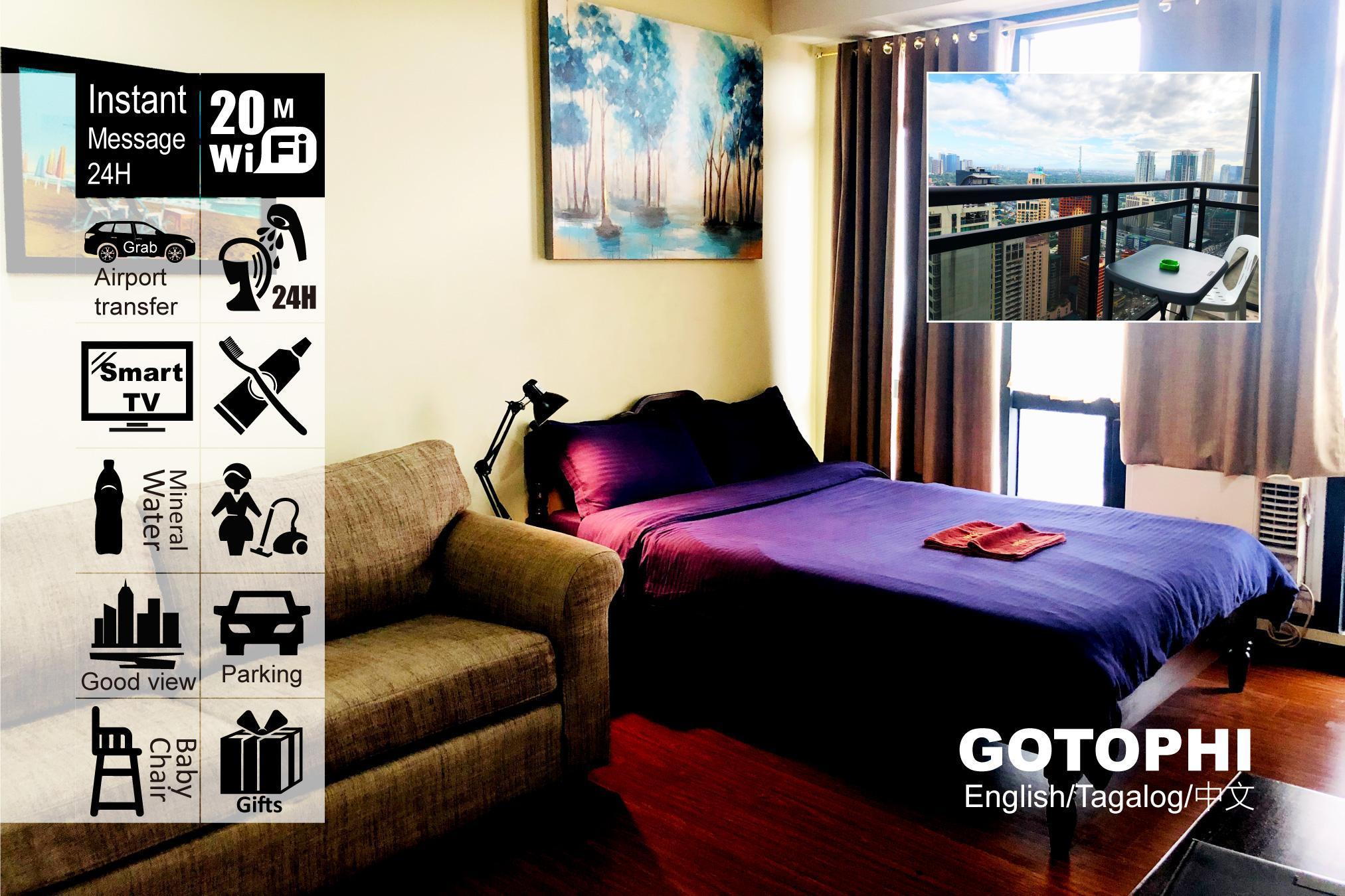 Gotophi Luxurious 5Star Hotel Gramercy Makati 4108