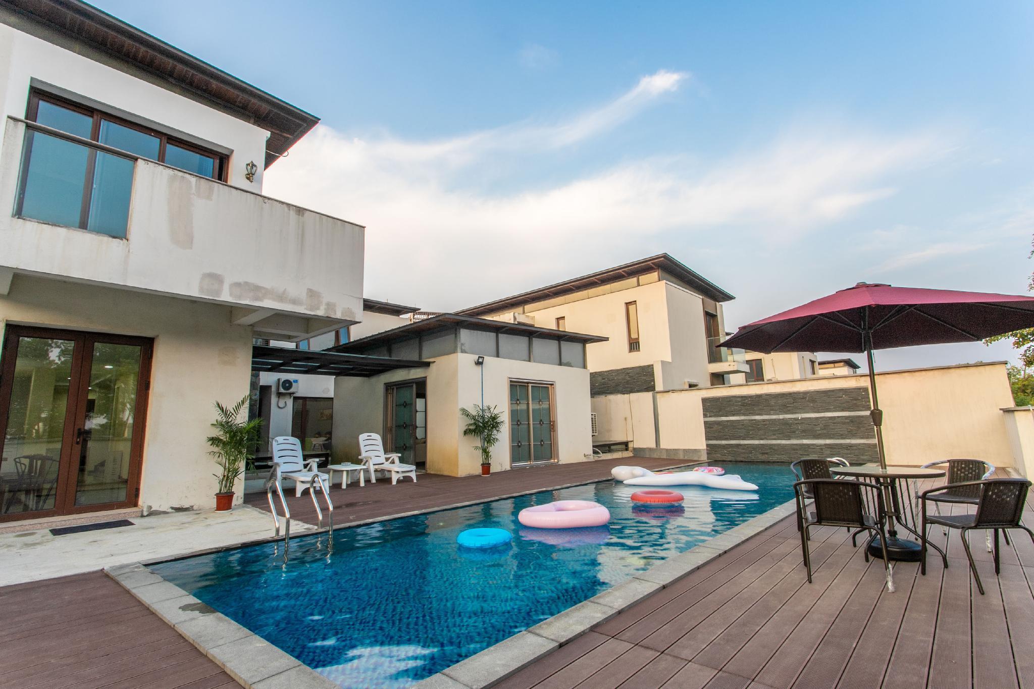 Suzhou Geocentric Theme Villa Home Party