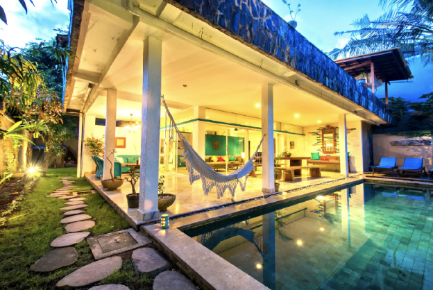 Explore Central Seminyak from this Homey Villa