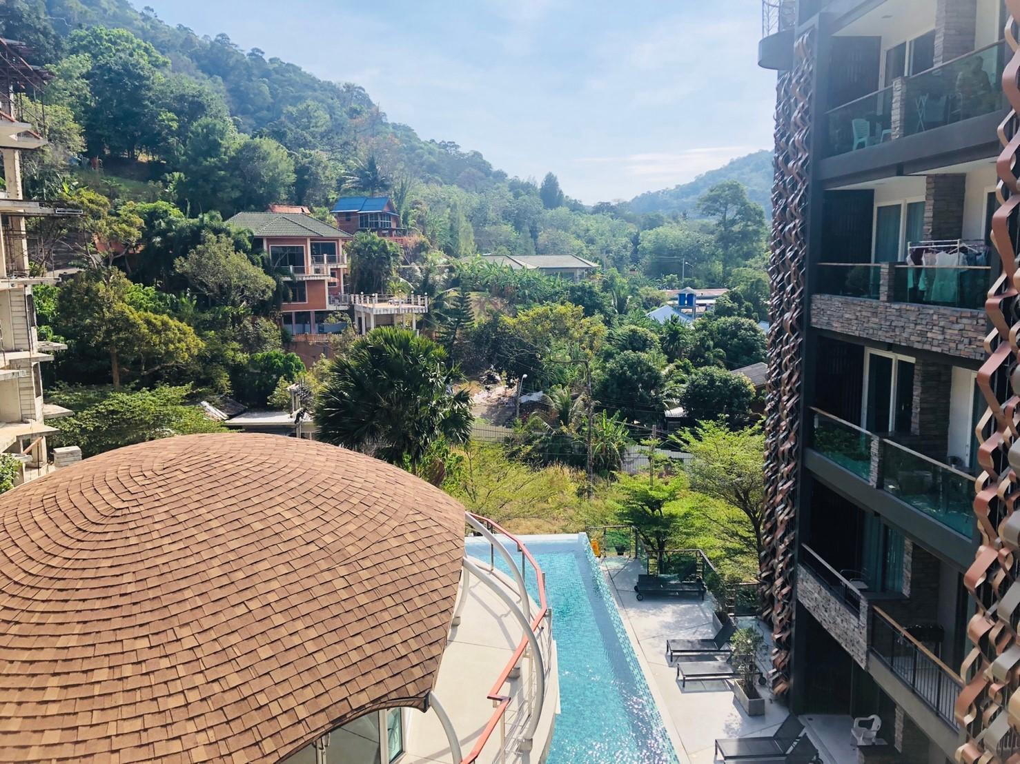 The Terrace Patong Resort สตูดิโอ อพาร์ตเมนต์ 1 ห้องน้ำส่วนตัว ขนาด 39 ตร.ม. – ป่าตอง