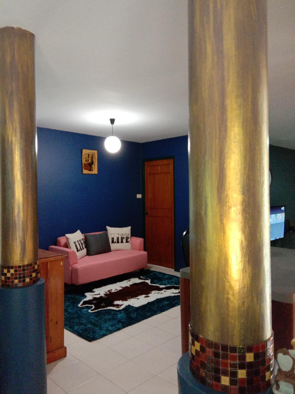 Blue Villa @Pinery Park Beach Rayong 2bdr 2bath วิลลา 2 ห้องนอน 2 ห้องน้ำส่วนตัว ขนาด 200 ตร.ม. – เพ