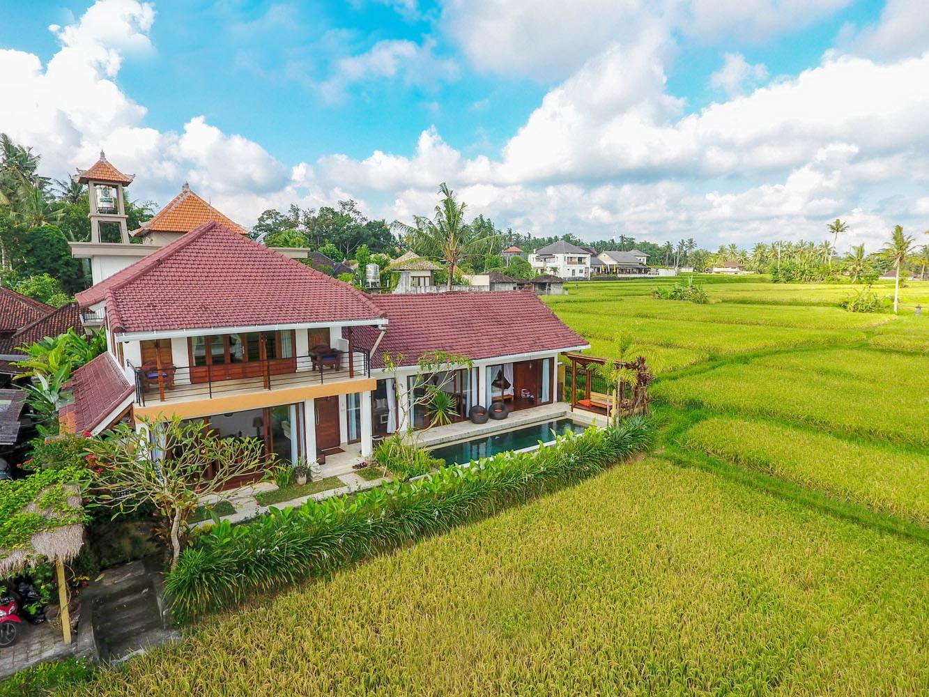 Padi Ballet Villa   Surrounded By The Rice Paddy