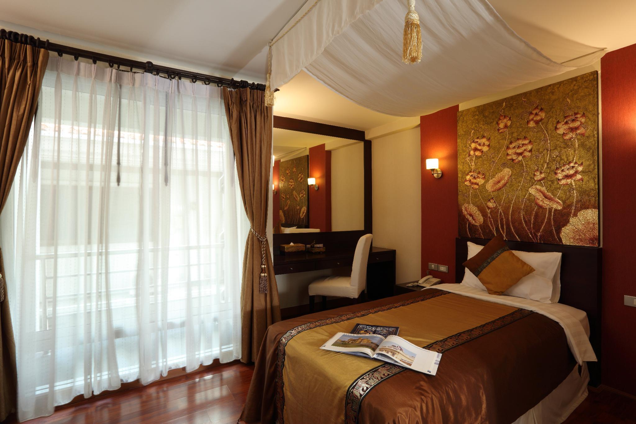 Thai style decoration room in Bkk silom อพาร์ตเมนต์ 1 ห้องนอน 1 ห้องน้ำส่วนตัว ขนาด 32 ตร.ม. – สาทร