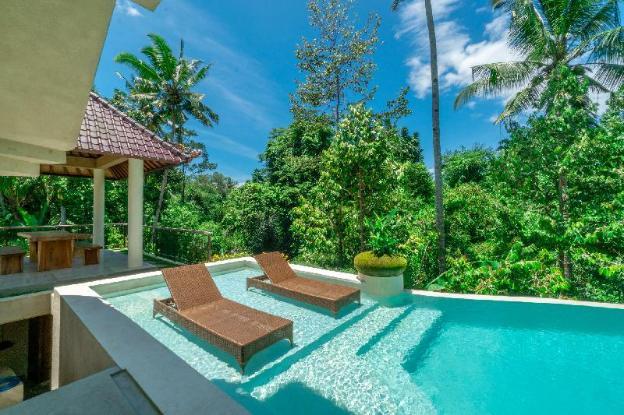 Jungle View Infinity Pool Private Villa
