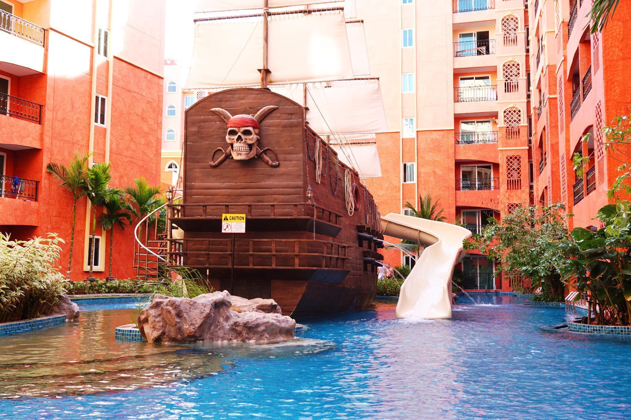 Seven Sea Resort Pattaya By Nithit2 อพาร์ตเมนต์ 1 ห้องนอน 1 ห้องน้ำส่วนตัว ขนาด 37 ตร.ม. – หาดจอมเทียน