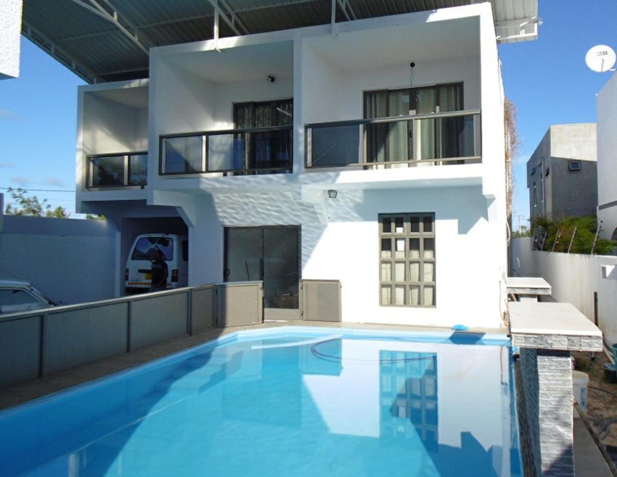 Apart Modern 7mn Beach With Pool And Terrace