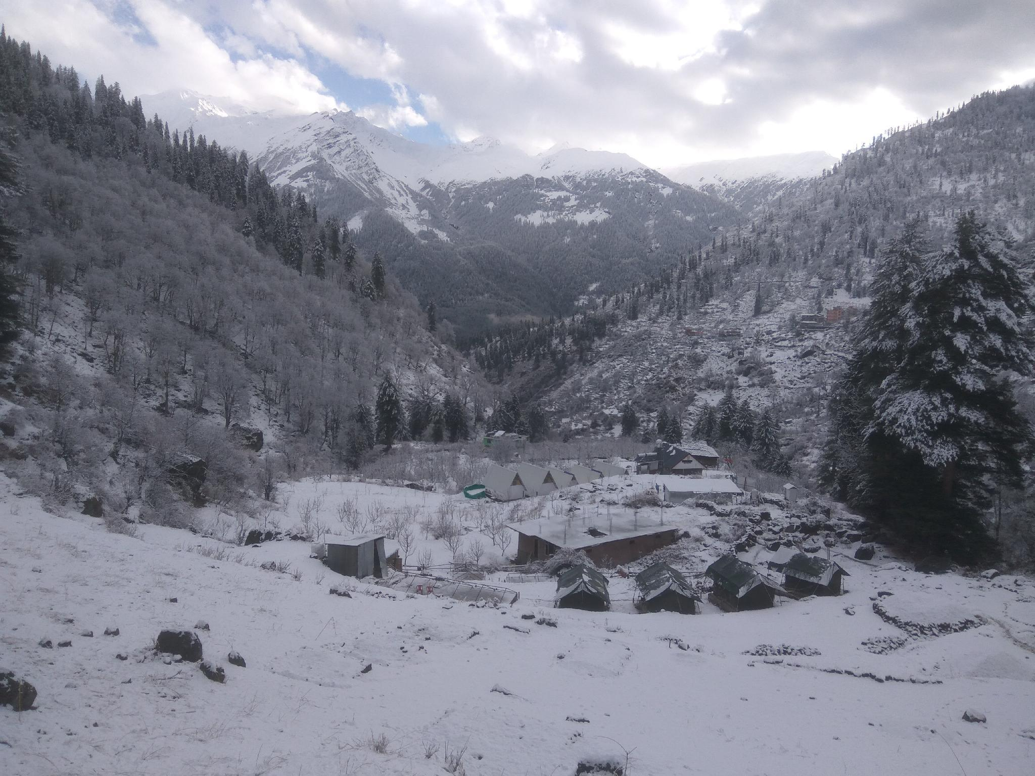 Divine Moments Of Tosh Camps And Treks