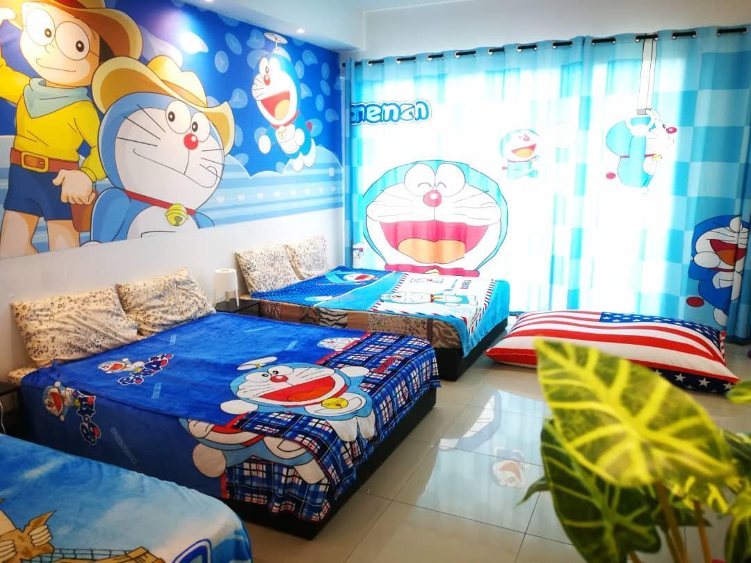 Doraemon @ Vince's Designer Suite With Pool Sogo