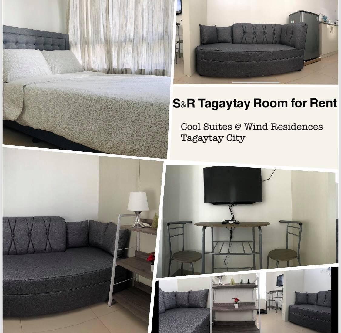 SandR Tagaytay Room For Rent