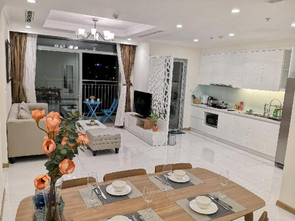 Modern decor 3 bedroom flat in Vinhomes Residency Ho Chi Minh City