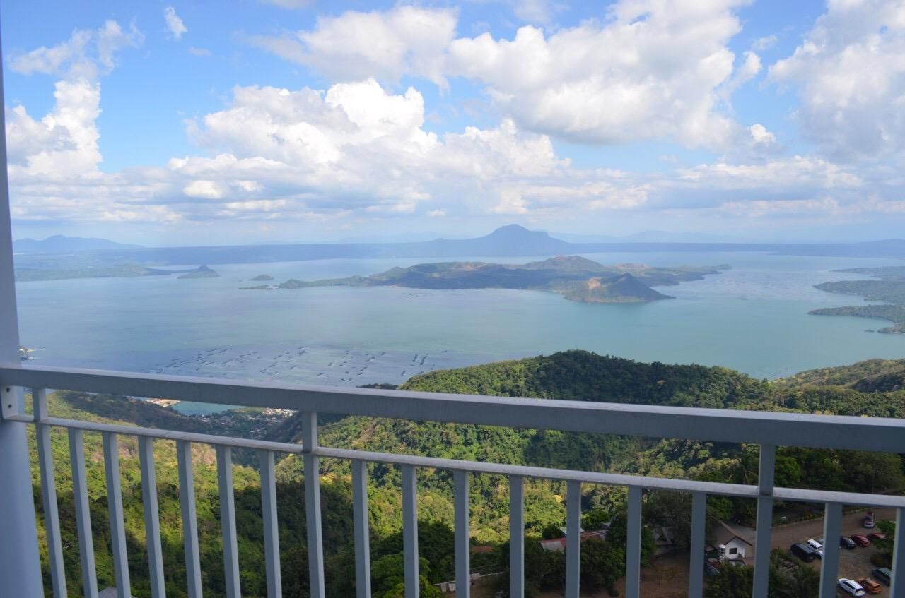 Breathtaking view of Taal Volcano / Lake