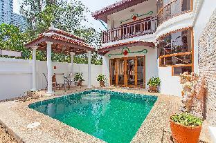 ⭐Bali Palms 3BR Private Pool Villa 250m to Beach วิลลา 3 ห้องนอน 3 ห้องน้ำส่วนตัว ขนาด 250 ตร.ม. – หาดจอมเทียน