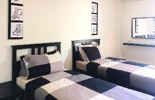 [バンセーン]スタジオ アパートメント(32 m2)/1バスルーム Superior Twin bed  at 26 bed and coffee