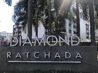 Ratchdaphisek Rd. MRT Hui Khwang. Diamond Ratchada อพาร์ตเมนต์ 2 ห้องนอน 2 ห้องน้ำส่วนตัว ขนาด 60 ตร.ม. – สยาม