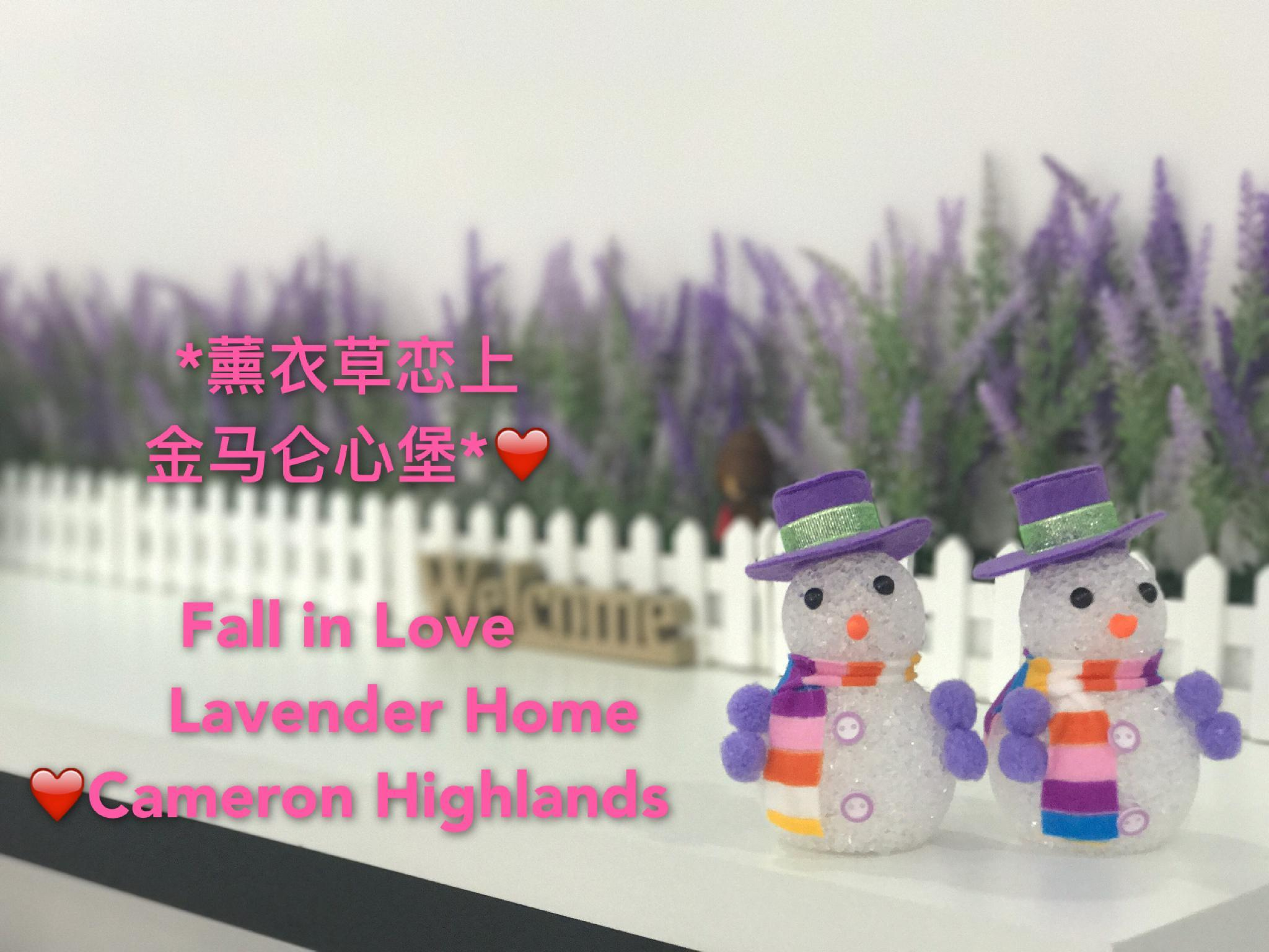 * Fall In Love Lavender Home