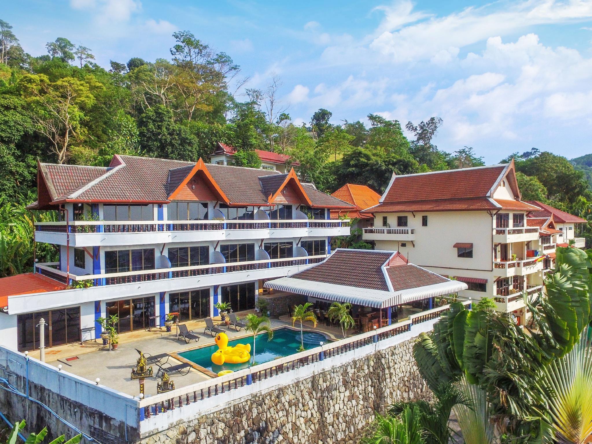 Sea View 5 Bedroom Private Pool Villa Patong Beach