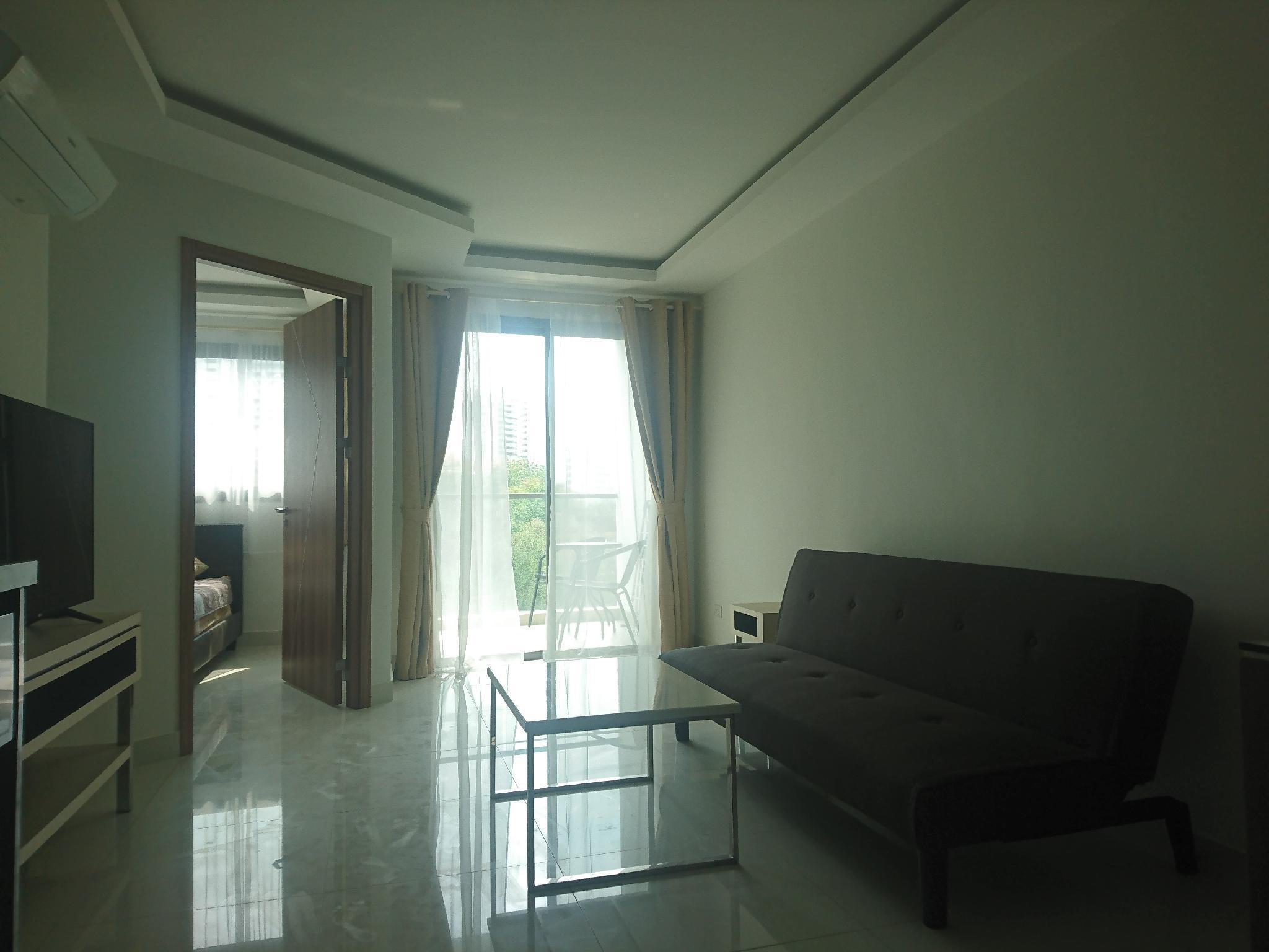 Delight 1 bedroom with pool view อพาร์ตเมนต์ 1 ห้องนอน 1 ห้องน้ำส่วนตัว ขนาด 39 ตร.ม. – นาเกลือ/บางละมุง