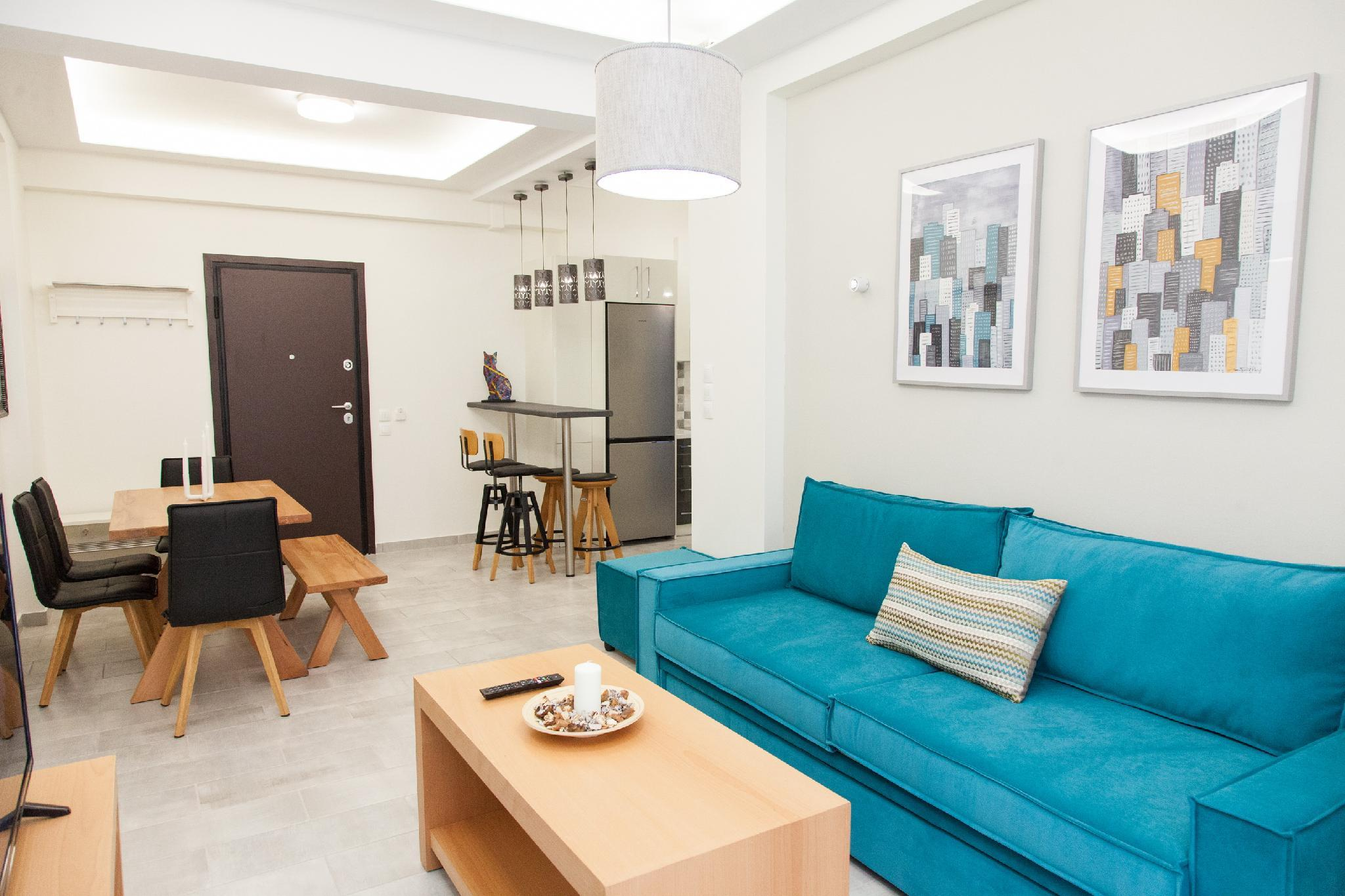 Beautiful Apartment With Hand Made Furniture