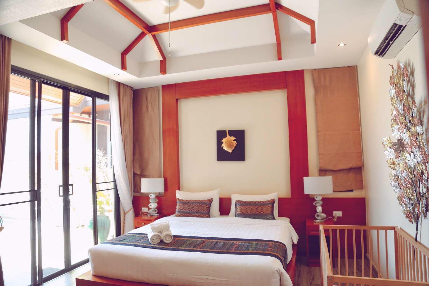 Rawai Luxury Villa (5 minutes walk to Rawai Beach) วิลลา 2 ห้องนอน 2 ห้องน้ำส่วนตัว ขนาด 150 ตร.ม. – หาดราไวย์