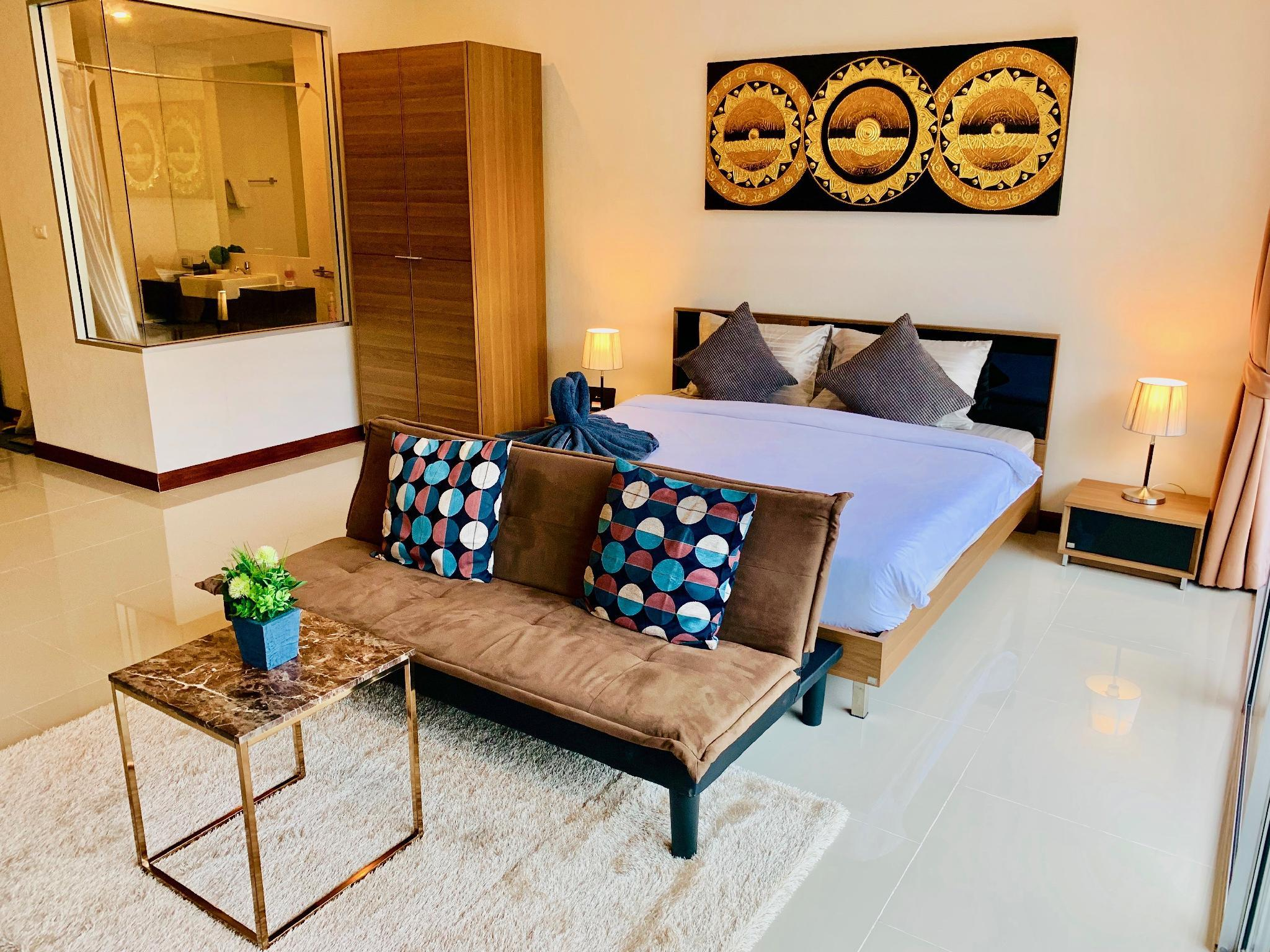 Spacious And Charming 48 Sqm. Apt In Central Karon