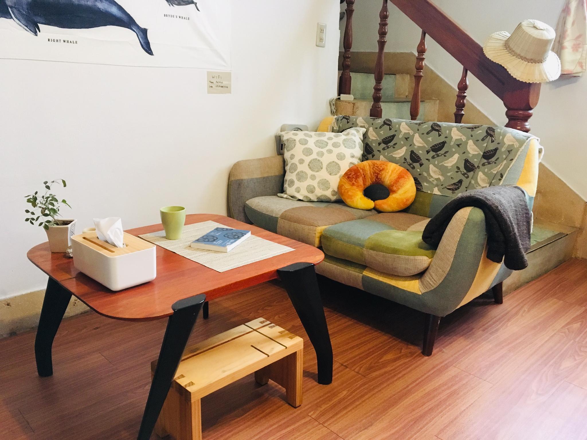 藝木宅chill in-House Of Wood n Art太陽•2-4人房 寧靜社區