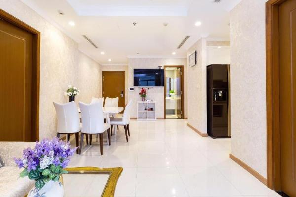 3-bedroom luxury apartment  Vinhomes Central Park Ho Chi Minh City