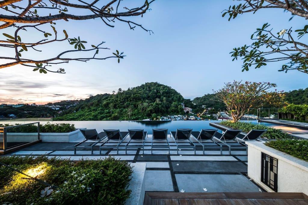 Luxury lifestyle condominium  in phuket town อพาร์ตเมนต์ 2 ห้องนอน 2 ห้องน้ำส่วนตัว ขนาด 60 ตร.ม. – ตัวเมืองภูเก็ต