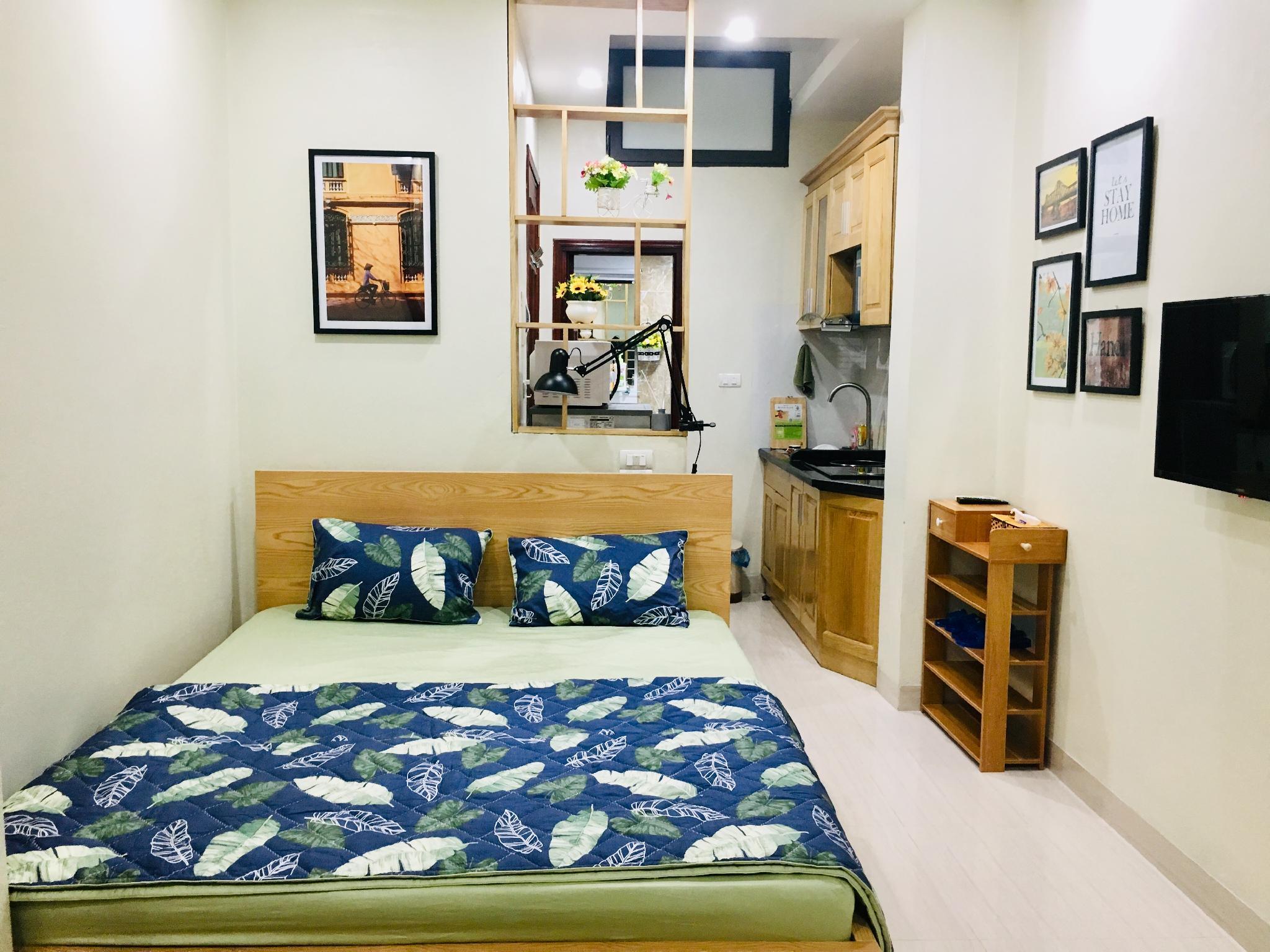 Mai's home-Cozy,equipped Studio Apt,central Hanoi