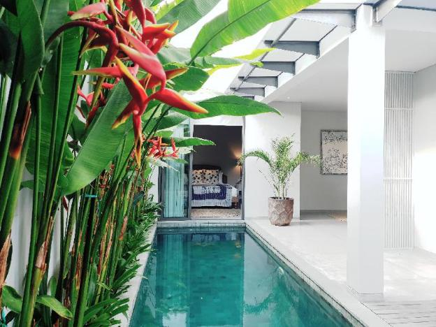 2BR Peaceful Villa with Private Pool in Legian