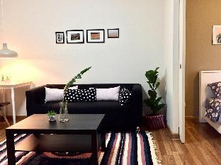 [ラチャダーピセーク]アパートメント(30m2)| 1ベッドルーム/1バスルーム 02.Entire 1 BR Kitchen+Wifi+local life+Near MRT