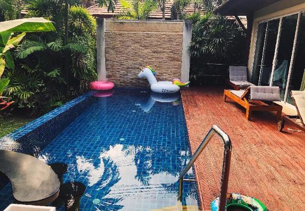 卡伦豪华台球三卧花园泳池别墅距海滩仅300米 Karon 3 bedrooms pool villa Phuket