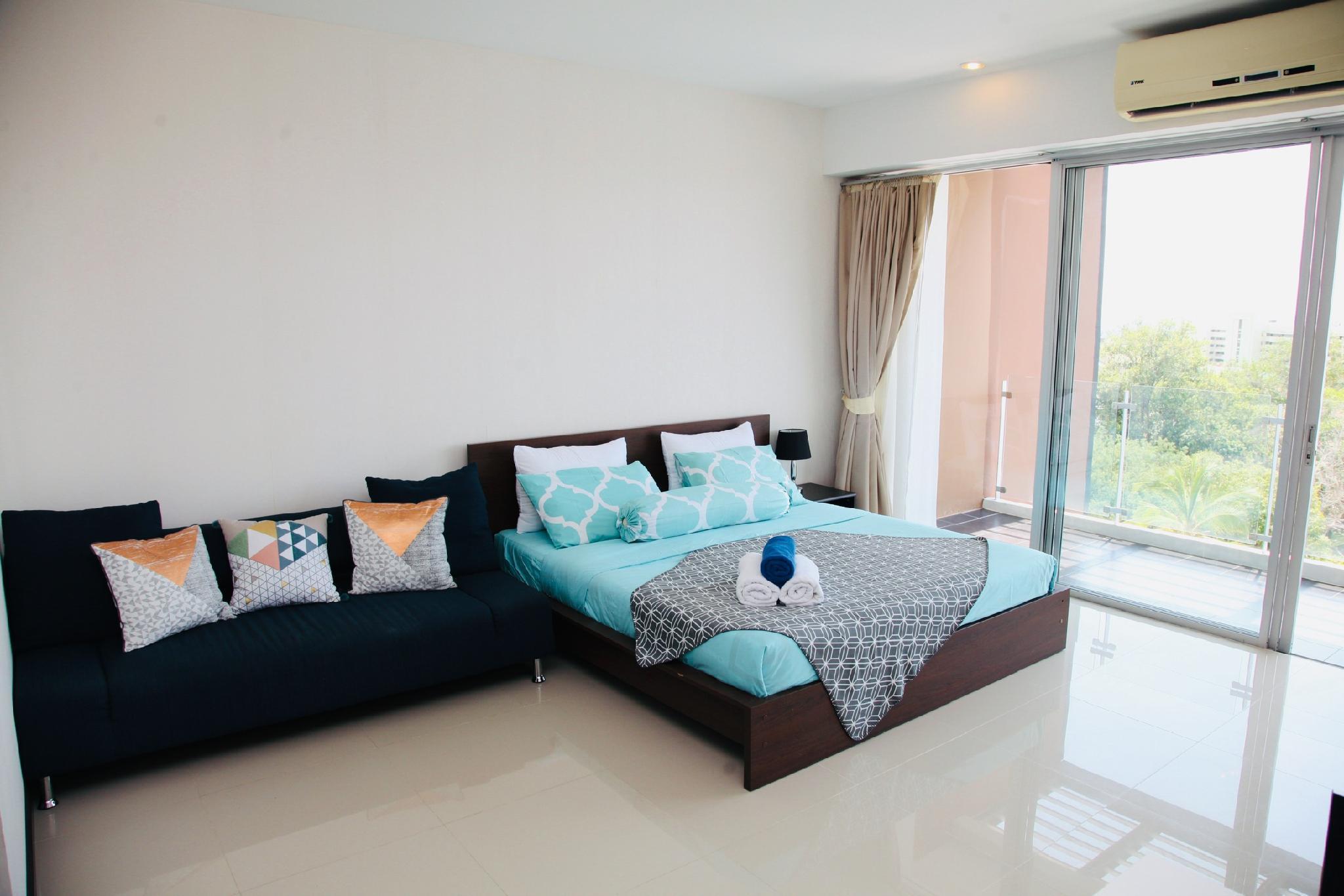 Full seaview apartment near Karon beach สตูดิโอ อพาร์ตเมนต์ 1 ห้องน้ำส่วนตัว ขนาด 50 ตร.ม. – กะรน