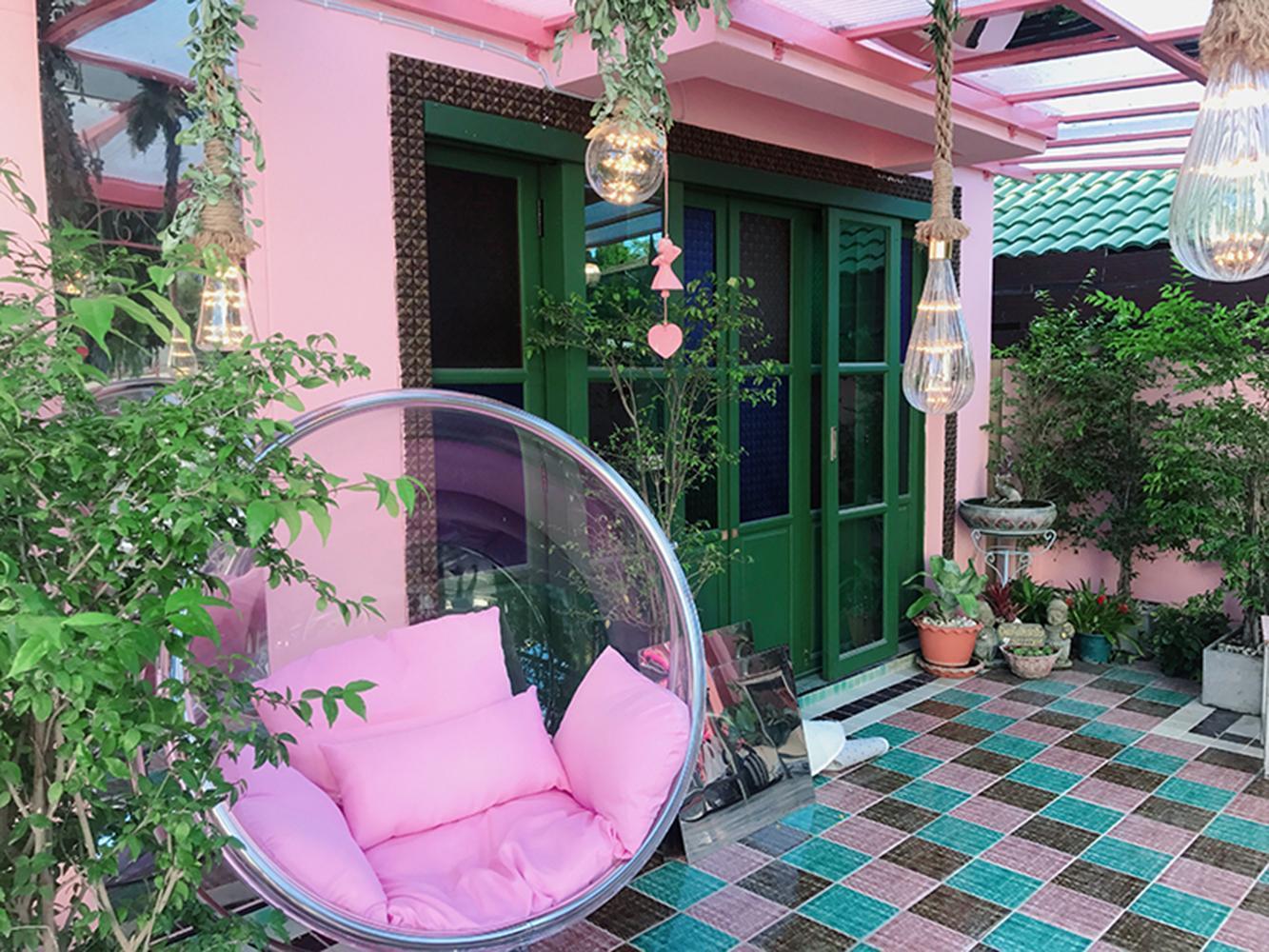 Miss time pink house 三床榻榻米套房 อพาร์ตเมนต์ 1 ห้องนอน 2 ห้องน้ำส่วนตัว ขนาด 50 ตร.ม. – สุเทพ