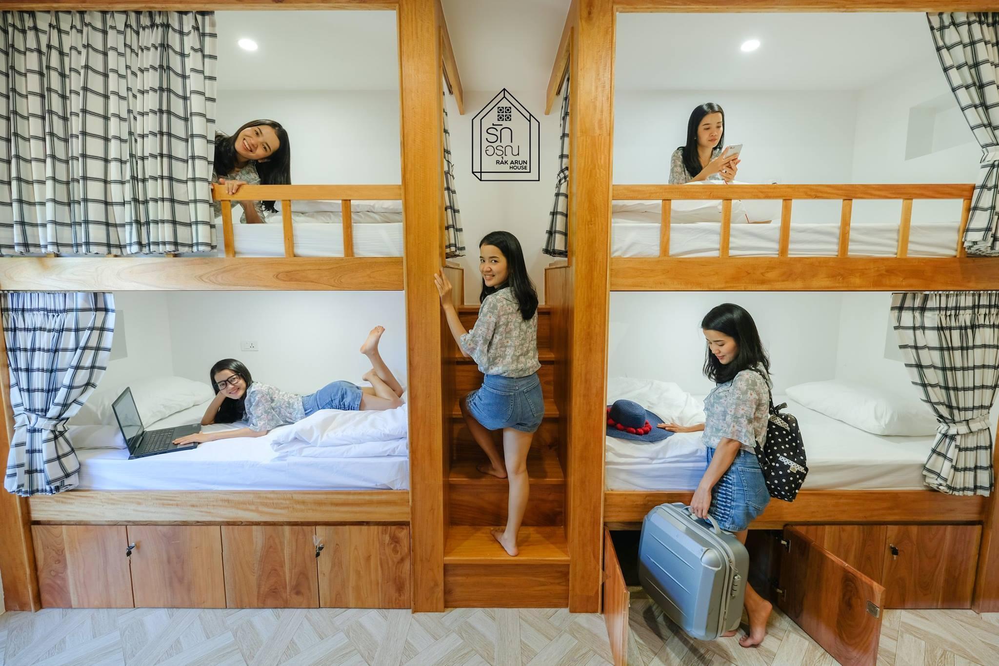 Rak Arun House  8 Bed Mixed Dormitory Room