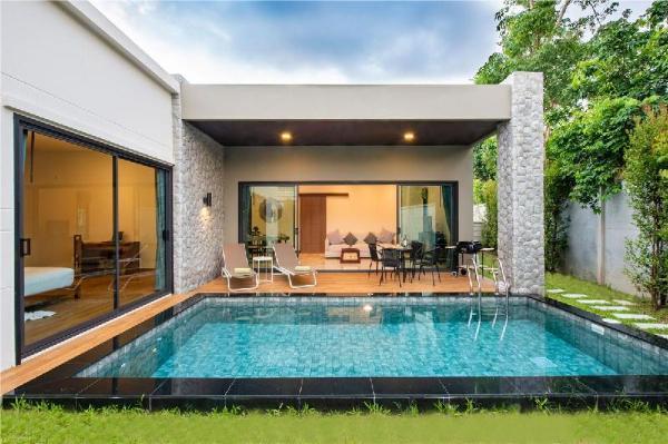 B Atlantis 2-bedrooms modern Private Pool Villa Phuket